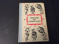 Through the Looking Glass Alice Wonderland Junior Deluxe Edition Book