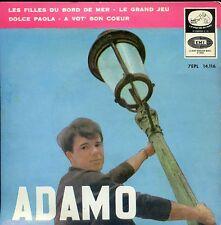 7inch ADAMO les filles du bord de mer  SPAIN EP vg++