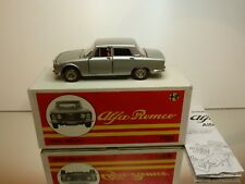 TOGI 8/72 ALFA ROMEO 2000 BERLINA - GREY METALLIC + RED INTERIOR - 1:23 EXC. IB