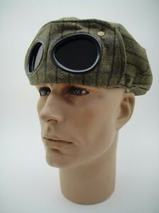 CAP + GOGGLES + SCARF TRIAL ENDURANCE RALLY Driving CAR TOUR Off Road Vintage