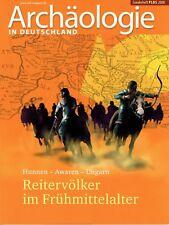 Reitervölker Frühmittelalter Hunnen Awaren Ungarn Archäologie Geschichte AiD Son