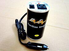 120 Watt Power Inverter, Can Size, 12V DC - 110/120V AC-60Hz
