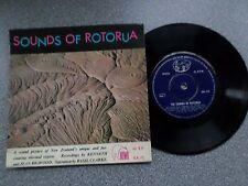 "SOUNDS OF ROTORUA  - KENNETH & JEAN BIGWOOD 7"" VINYL EP - P/S"