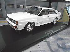 AUDI Quattro Coupe MKI 10V weiss white 1980 NEW NEU Minichamps Diecast  1:18