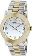 Marc by Marc Jacobs Women's Amy MBM3139 Silver Stainless-Steel Quartz Fashion Wa