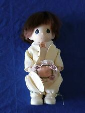 Precious Moments Doll RING BEARER DANNY No. 1557  Wedding  EUC