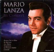 Mario Lanza - In Concert - CD Album (2000) 22 Tracks