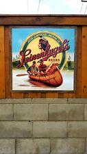 Leinenkugel's Chippewa Falls hunting fishing beer poster sign banner man cave