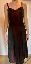 Rotes Damen-Abendkleid, Ballkleid, Weinrot, Kleid, Größe 36