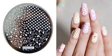 Nail Art Stamping Plates Image Plate Decoration Shapes Stars Squares hehe02