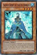 Yu-Gi-Oh Yugioh Sacred Spirit of the Ice Barrier HA04-EN024 Super 1st Near-Mint!