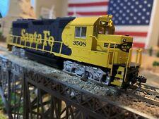 HO Scale Bachmann Santa FE GP40 Diesel Locomotive DCC kadee BLUE BONNET new !