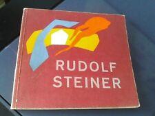 Rudolf Steiner livre en danois Dansk sprogbog 1972