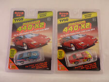 TYCO 440-X2 SLOT CARS 1/EA 39255, 1/EA 91778 NISSAN 300, PORSCHE CARRERA