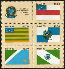 BRAZIL MNH 1983 State Flags