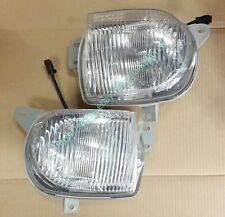 Genuine FRONT FOG LAMP Pair Round Type White for Ssangyong MUSSO #8320105500X+