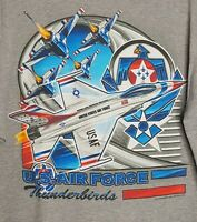 US Air Force Thunderbirds T-Shirt Gray XL