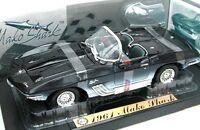 MOTOR MAX 73102 CORVETTE MAKO SHARK diecast model sports car dark blue 1961 1:18