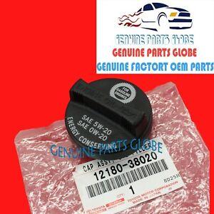 GENUINE TOYOTA CAMRY RAV4 MATRIX TUNDRA LEXUS ENGINE OIL FILLER CAP 12180-38020