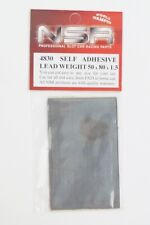 4830 NSR 1:32 BEST SELF ADHESIVE LEAD WEIGHT 50x80x1.5 mm Slot car