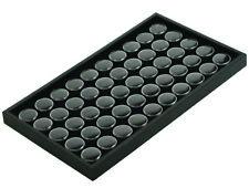 50 Jar Black Foam Insert Coin Amp Jewelry Display Tray Holder