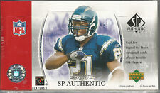 (3 BOX LOT) 2003 UPPER DECK SP AUTHENTIC FOOTBALL HOBBY FACTORY SEALED