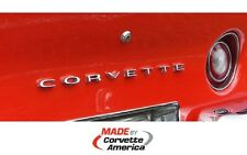 68-73 Corvette Rear Bumper Letters **NEW ** Corvette America