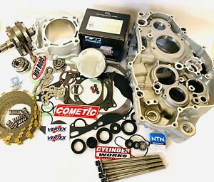 10-13 CRF250R CRF 250R Cases Complete Motor Engine Rebuild Crankcase Top Bottom