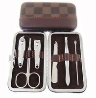 ds Kit Manicure Da Viaggio Forbici Tagliaunghie Limetta Confezione Elegante dfh