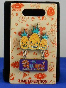 Disney 2020 AULANI RESORT AND SPA Halloween Jack-O-Lantern Pineapple LE 1200 Pin