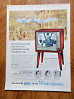 1952 Westinghouse TV Television Ad Convention Hall Chicago Abraham Lincoln 1860 photo
