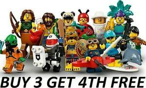 LEGO MINIFIGURES SERIES 21 71029 PICK CHOOSE MINI FIGURES BUY 3 GET 4TH FREE