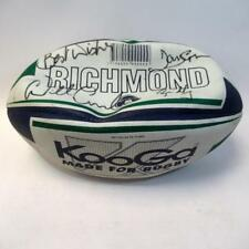 Richmond KooGa Rugby Ball with Three Signatures - Official Size 5 - Uninflated
