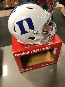 Duke Blue Devils NCAA Riddell SPEED Full Size Replica Football Helmet