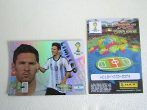 Panini Adrenalyn xl Fifa World Cup  Brasil 2014 Algeria ~ Germany Variants (ef1)