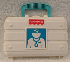 Fisher Price Toy Medical kit Doctor Nurse Pretend Play Vintage Toy Set 1997