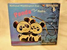 Vintage Windsor AM Radio Panda Bear National Washington Zoo Anthropomorphic