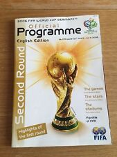* 2006 FIFA WORLD CUP FINALS ( Germany ) OFFICIAL TOURNAMENT PROGRAMME *