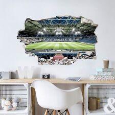 Wandsticker 3 D Mauerdurchbruch Schalke 04 Arena Tribüne Veltinsarena Fan Sport