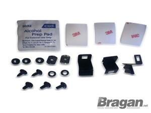 To Fit 2005 - 2010 Kia Sportage 4x4 Steel Bonnet Guard Fitting Kit