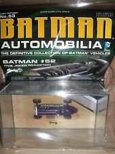 DC - BATMAN AUTOMOBILIA COLLECTION #53- Batman #52 Joker Roadster!