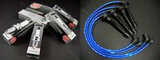 NGK V-Power Spark Plugs & Wires 99-00 Civic Si B16A