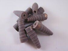 "Porting & Polishing Tapered Cartridge Rolls large 1/2"" x 1 1/2"" 320 grit 10 pack"