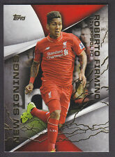 Topps Premier Gold 2015 - New Signings NS-1  Roberto Firmino - Liverpool