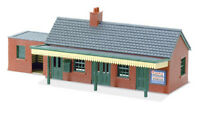 Country Station Building, brick type - N gauge Peco NB-12 Free Post P3