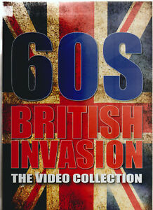 60s British Invasion - The Video Collection - Various Artists - PAL System DVD -