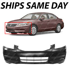 NEW Primered - Front Bumper Cover Replacement For 2011 2012 Honda Accord Sedan