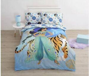 Disney's Aladdin Jasmine Single Bed Quilt Doona Duvet Cover Set BNWT Cotton