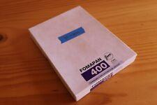 Fomapan 400 4x5 film - 39 sheets left of box - exp 05-2020