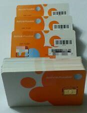 100 Brand New Micro At&T Sim Card 4G Sku 40954/72290